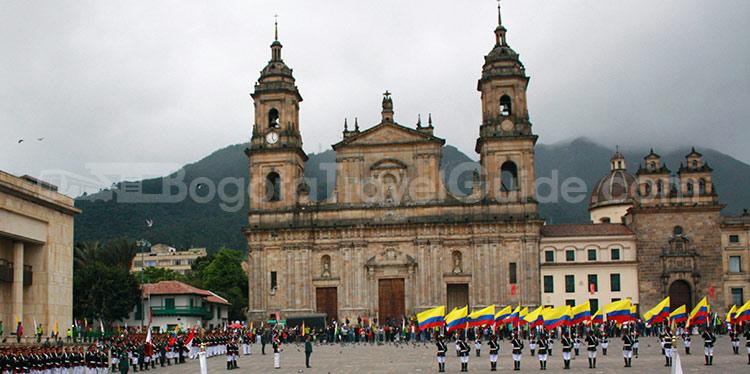 Catedral primada de bogot bogota for Direccion ministerio del interior bogota