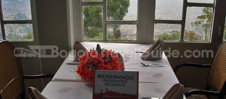 Cena Romantica en Monserrate: Restaurante San Isidro Monserrate.